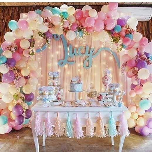 Арка из шаров на день рождения
