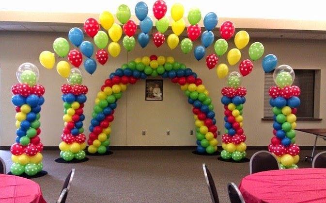 Разноцветная арка