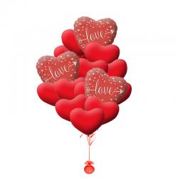Букет «Облако для любимой» на 14 февраля или 8 марта