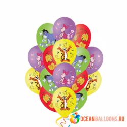 Воздушные шары «Винни Пух и его друзья»