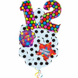 С  Днем Рождения Футболист! из 19 шаров