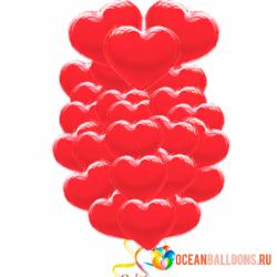 Букет из шариков «Признание» на 14 февраля