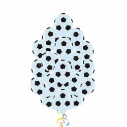 Воздушные шары «Футбольный мяч»