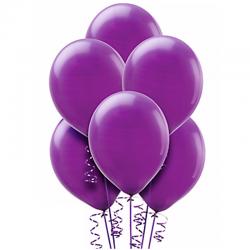 Воздушный шар фиолетовый пастель