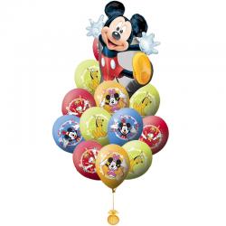 Букет «Микки Маус и его друзья» из 21 шара