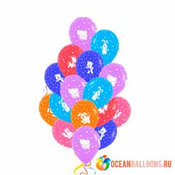 Букет «Животные» из 28 шаров