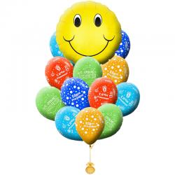 Букет «Самый веселый :)» из 20 шаров