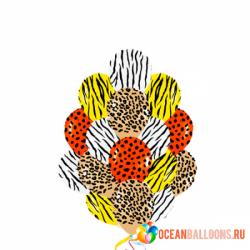 Воздушный шар «Цвета джунглей»