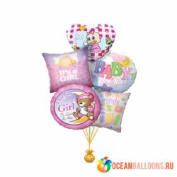 Букет шаров «Доченьке!»