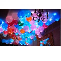 Облако из светящихся шаров 2