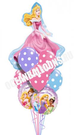 Букет из шаров «Великолепная Принцесса»