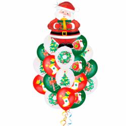 Букет «Поздравление от Деда Мороза!»