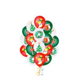 Связка шаров «Новогоднее настроение»