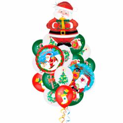 Букет «Поздравление от Деда Мороза 2»