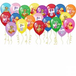 Воздушные шары под потолок «Винни-Пух»