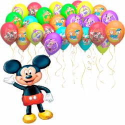 Воздушные шарики «Приглашение на праздник от Микки»