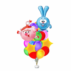 Букет «Смешарики» из воздушных шариков