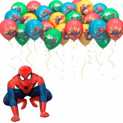 Воздушные Шары «Поздравление от Человека Паука»