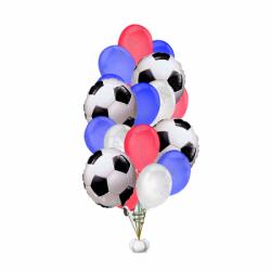 Букет шаров футбол 19 шт