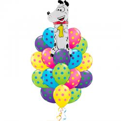 «Годовалому ребенку» из 21 шаров на день рождения