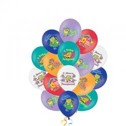 «Поздравления от Спанч Боба» шары на день рождения