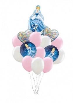 «Диснеевская принцесса» букет из 20 шаров