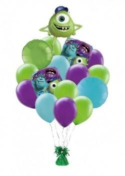 Майк букет из 15 воздушных шариков