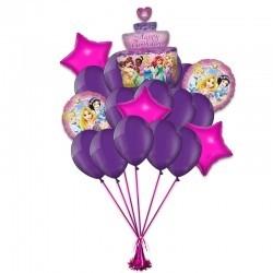 Букет из 21 шаров на День Рождения Вашей Принцессе