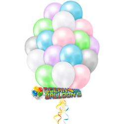 Облако из шаров Ассорти пастель 40 шт