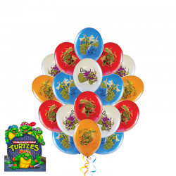Воздушные  шарики «Черепашка ниндзя Леонардо и его друзья»