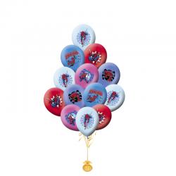 Разноцветные воздушные шары Человек Паук