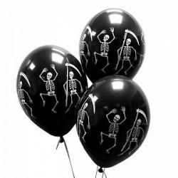 Воздушные шары на хэллоуин Скелеты