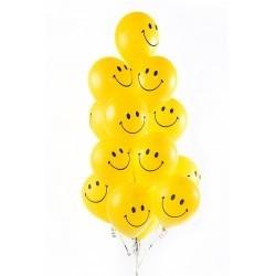 Воздушные шарики  Веселые смайли