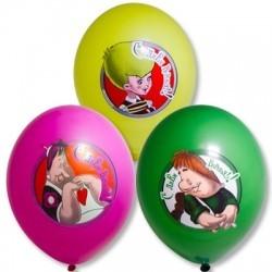 Воздушные шары мультфильма  «Малыш и Карлсон»