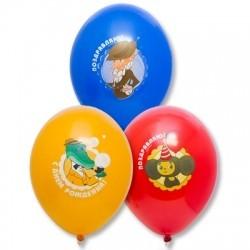 Воздушные шарики мультфильма «Гена и Чебурашка»