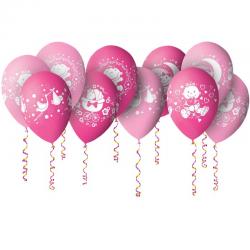 Воздушные шарики Спасибо за дочку