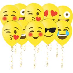 Воздушные шары с  гелием  Эмодзи