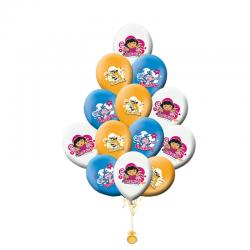 Гелевые шары  день рождения «Даша»
