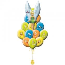 «Поздравления от Динь-Динь» букет на День Рождения