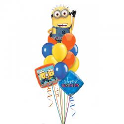 «Чудный Миньон» букет из 18 воздушных шаров