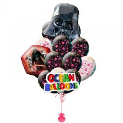 Композиция воздушных шаров Звездные Войны, Темная Сторона.