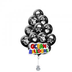 Воздушные шарики Грозные Пираты