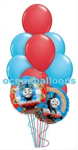 Букет из воздушных шаров Паровозик Томас