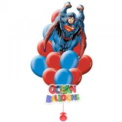 Букет из воздушных шаров «Супермен»