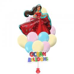 Композиция из воздушных шаров «Принцесса»