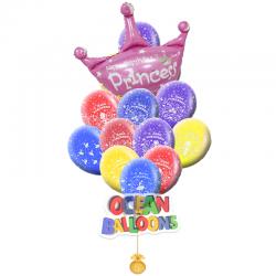 Букет из воздушных шаров «Для принцессы»