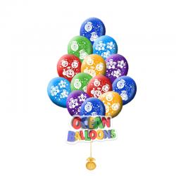 Яркие воздушные шарики  «Смайл ученик »
