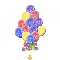 Яркие воздушные шарики на день рождения для Принцессы