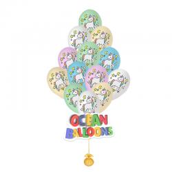 Воздушные шарики Радужный Единорог