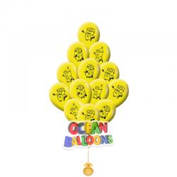 Воздушные шарики Миньоны